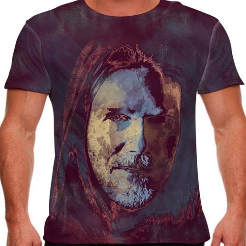 camiseta rock nacional humberto gessinger paint masculina