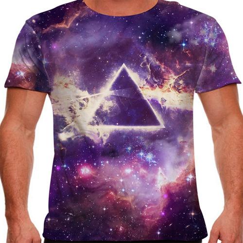 camiseta rock pink floyd the dark side of the moon masculina