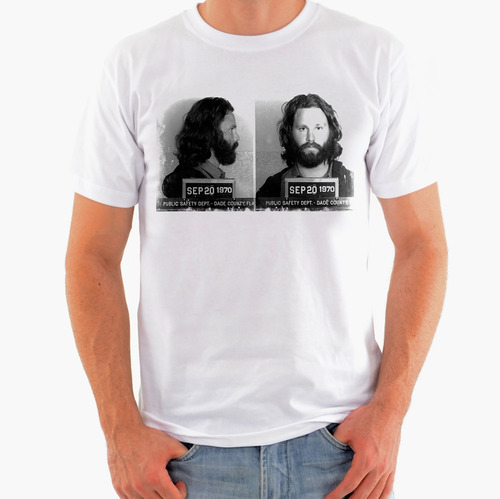camiseta rock - the doors, jim morrison, led zeppelin