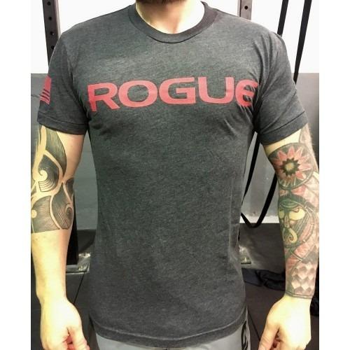 Camiseta Rogue Crossfit Cinza Média Masculina Original - R ...
