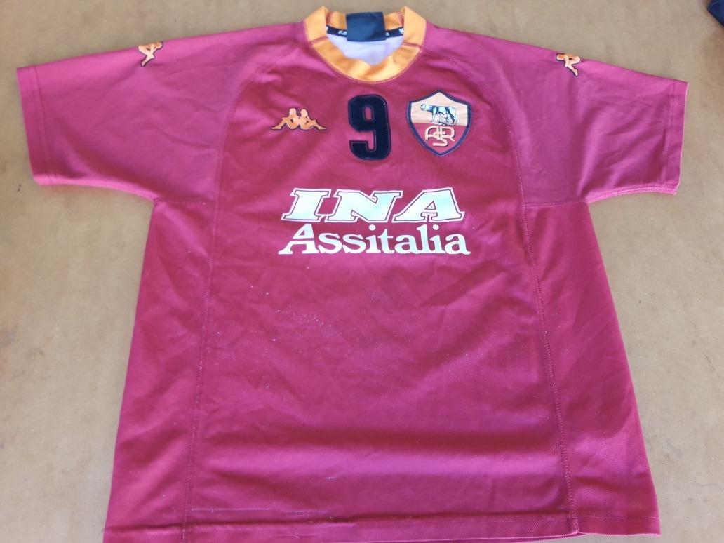 c4b1310542362 camiseta roma batistuta kappa. Cargando zoom.