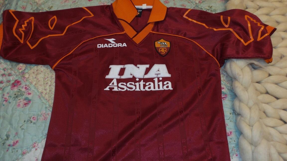 camiseta roma diadora walter samuel. Cargando zoom. 809652996c70a