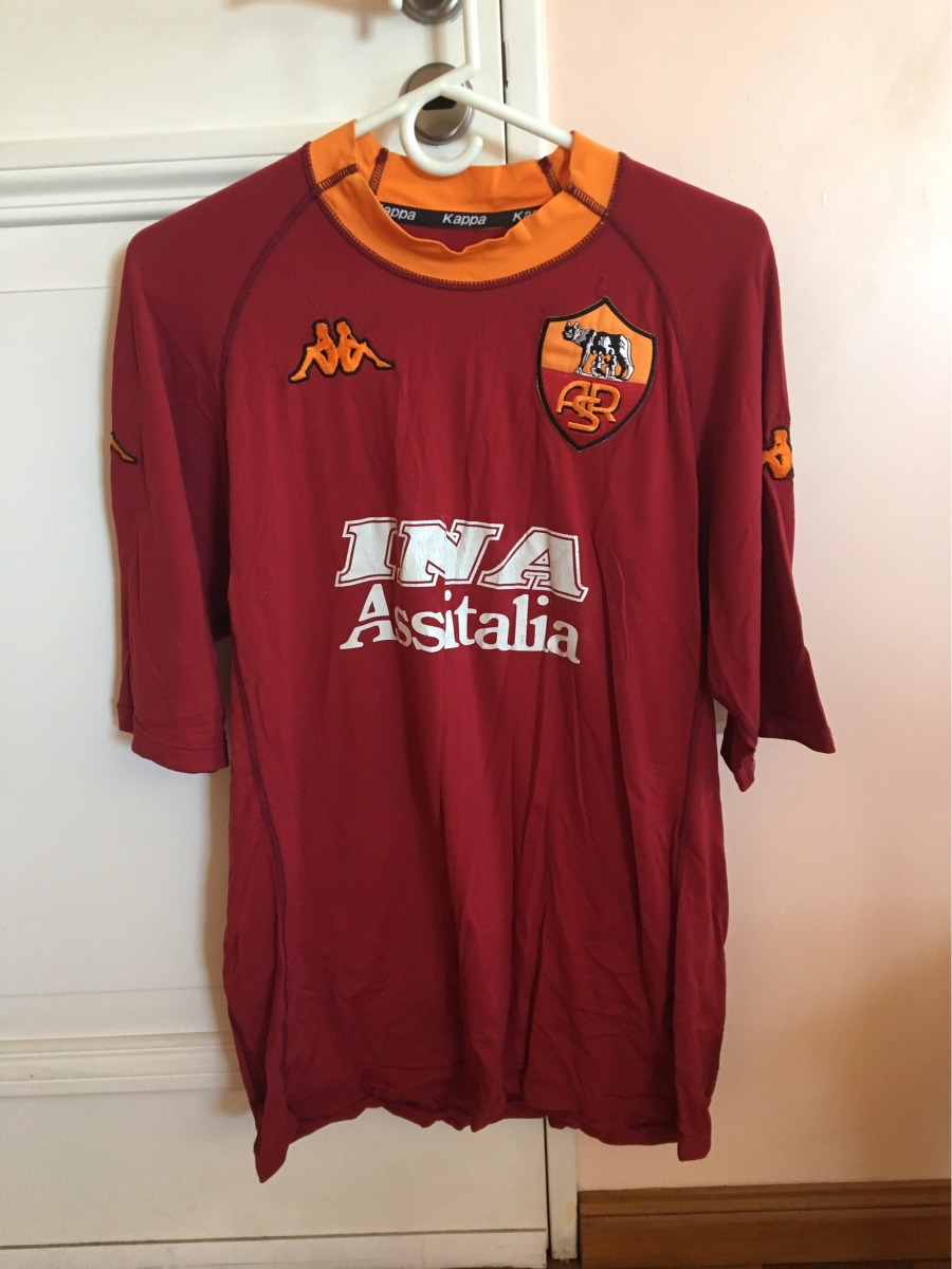 635a04c0a8f14 camiseta roma kappa batistuta. Cargando zoom.