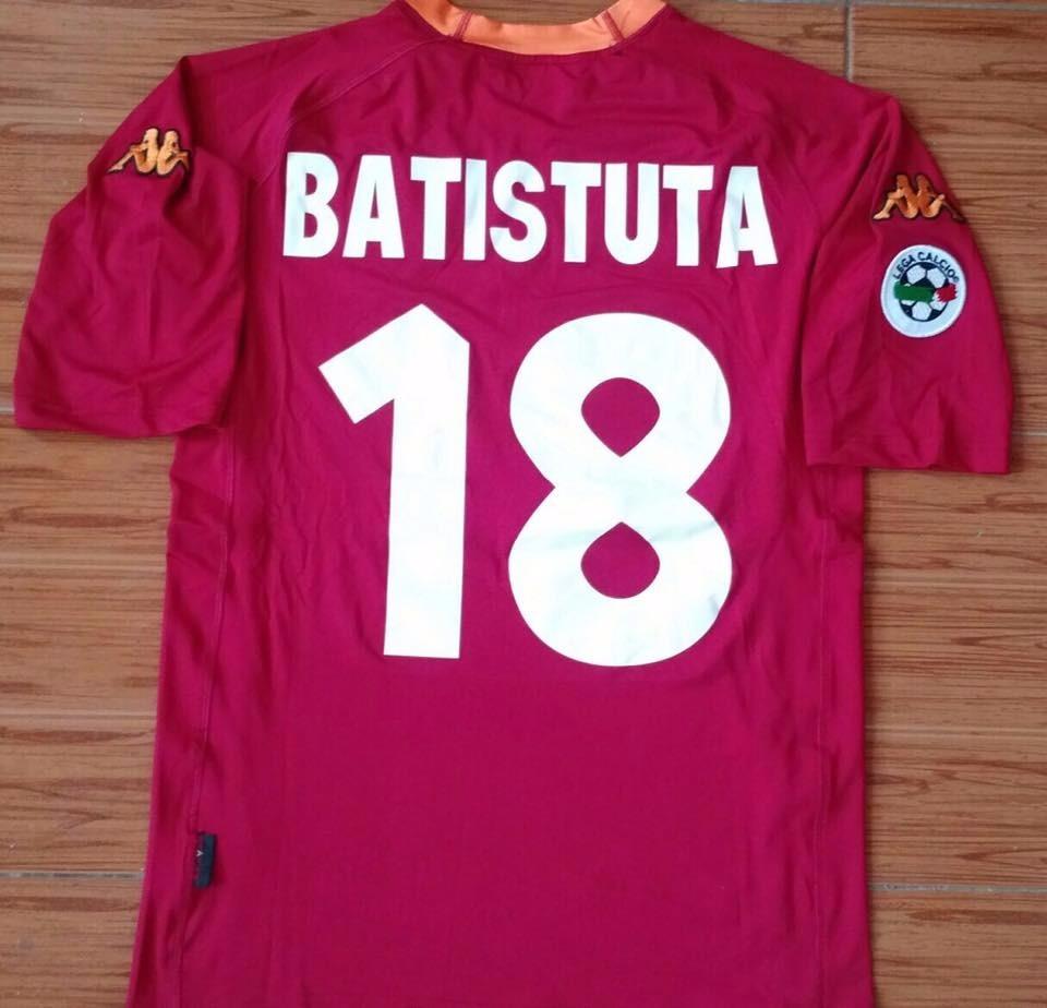86511402209b3 Camiseta Roma Retro Kappa Original Batistuta 2000 -   899