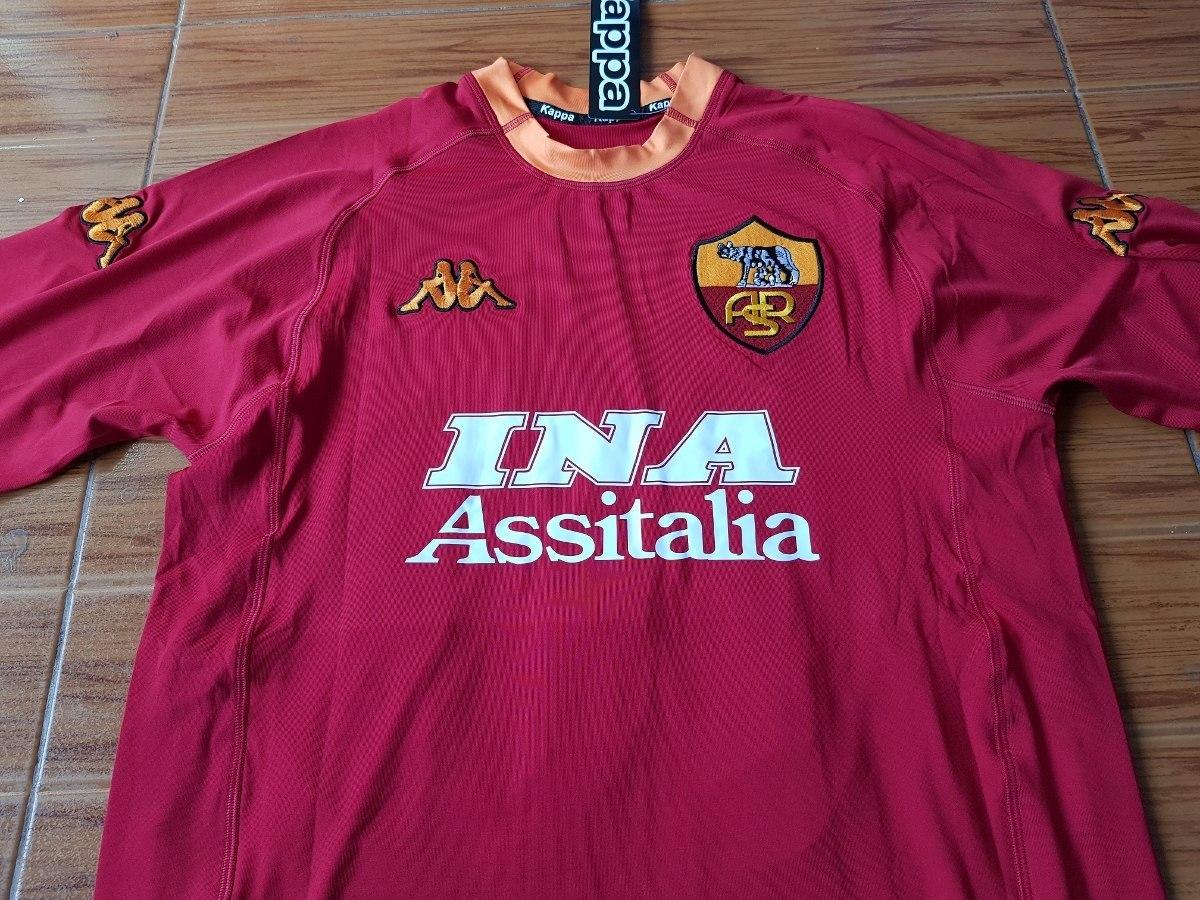 camiseta roma retro kappa original batistuta 2000. 6 Fotos c8e058de4538c