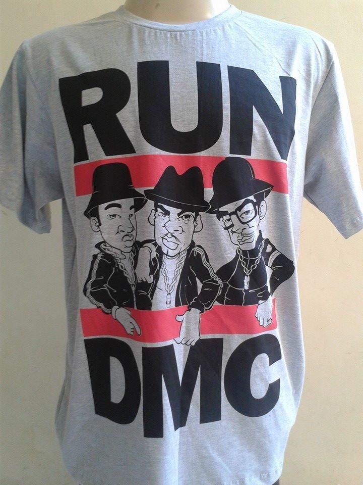 ee23fcecf3935 camiseta run dmc cartoon hip hop. Carregando zoom.