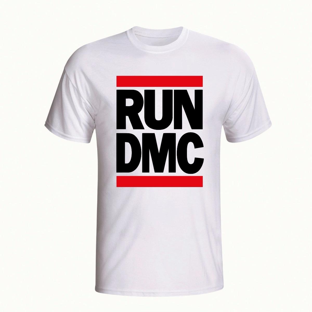 ded79b74b7af2 camiseta run dmc hip hop rap personalizada branca camisa. Carregando zoom.