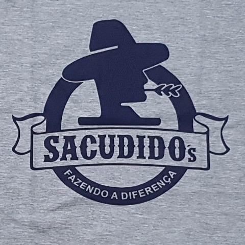 Camiseta Sacudido s - Cinza Mescla E Azul - R  89 0f8dd6d63f301
