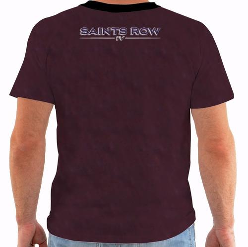 camiseta saints row iv - 4 - games
