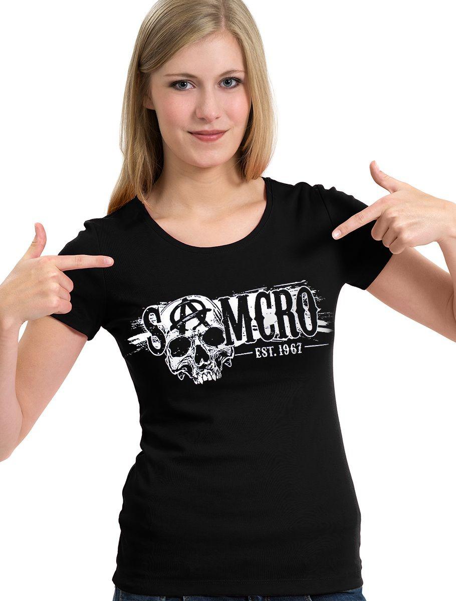 530d85a639 camiseta samcro sons of anarchy frente e costas camisa blusa. Carregando  zoom.
