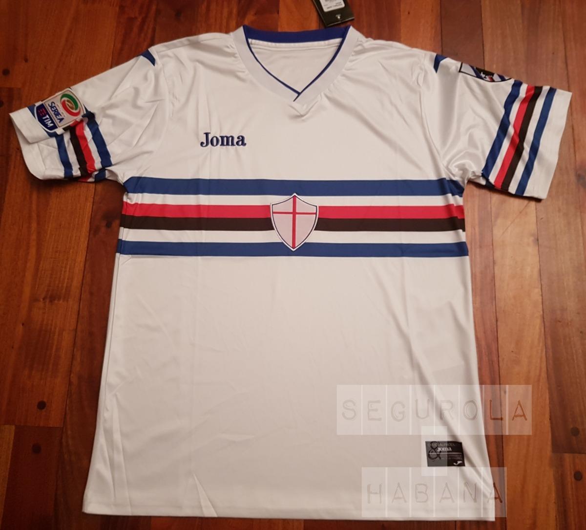 Camiseta Sampdoria 2018 Titular -   999 3ac16a779b393