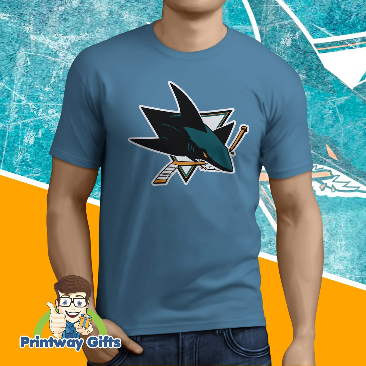 aa41de790 camiseta san jose sharks - nhl - temos todos os times! Carregando zoom.