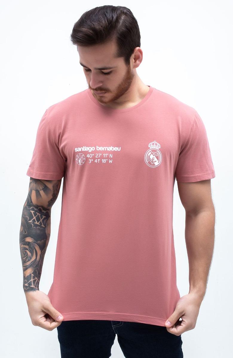 Camiseta Santiago Bernabéu (real Madrid) - Coral E Branca - R  74 490aa52b7f394