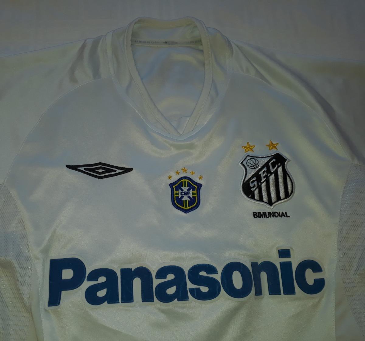 6a4796faaa camiseta santos 2005 original umbro robinho panasonic - ro. Carregando zoom.