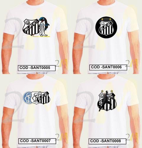 907d542e298f4 Camiseta Santos Baby Look Camisa Time Futebol Peixe - R  20