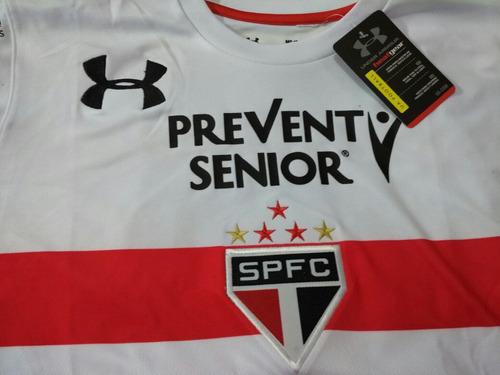 camiseta sao paulo brasil cueva fútbol 2017