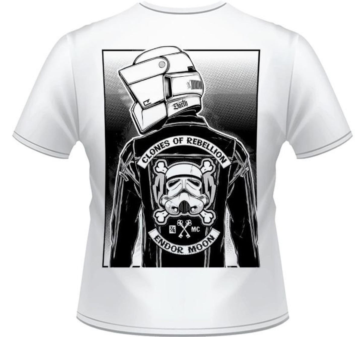 Camiseta - Scout Trooper - Clones Of Rebellion - R  35 26d7f338f8a70