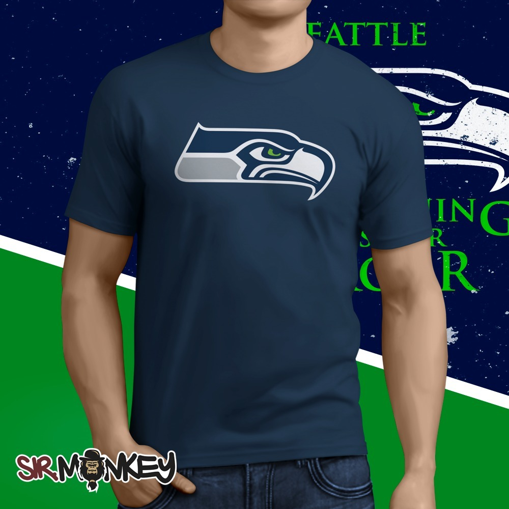 aa8af45b8 Camiseta Seattle Seahawks Nfl New - Temos Todos Os Times - R  39