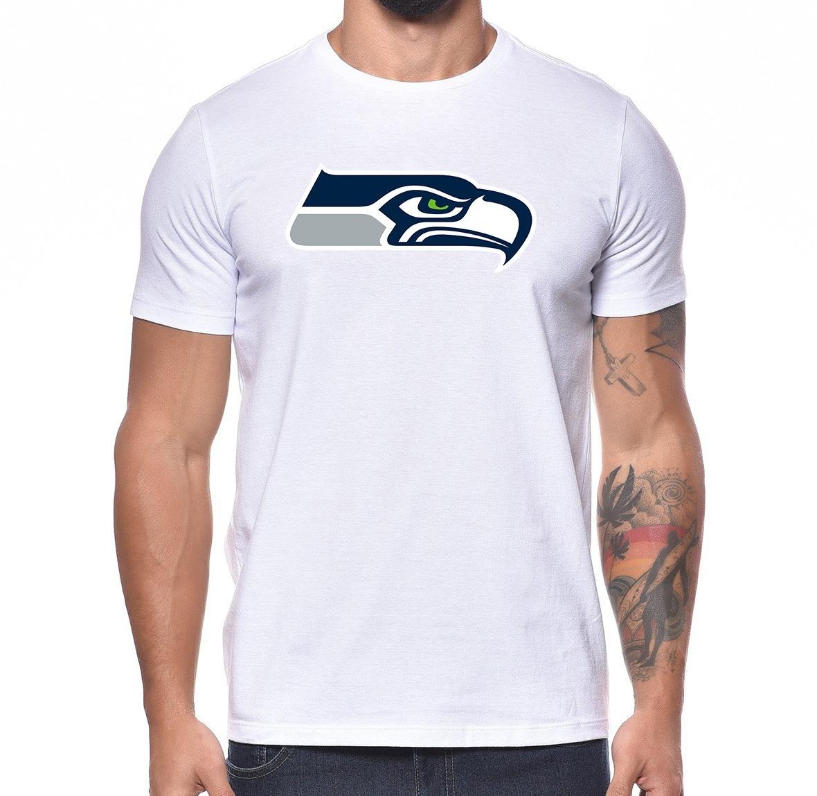 camiseta seattle seahawks time futebol americano nfl m02. Carregando zoom. 05d6e7e52c566