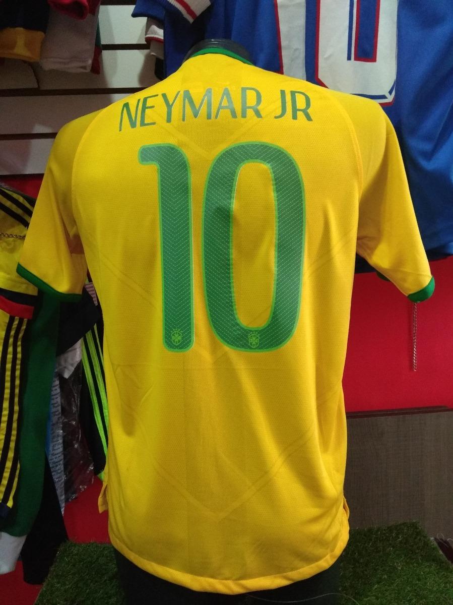 69638a4473037 Camiseta Sel Brasil 2014 S Neymar Jr  155990 -   155.990 en Mercado ...