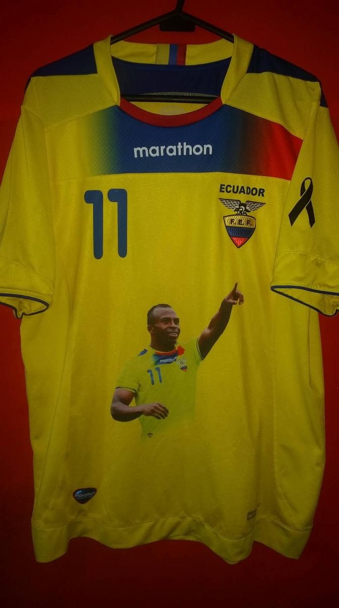 90ca1249b2a Camiseta Sel Ecuador Conmemorativa Chucho Benitez Xl - U$S 45,00 en ...