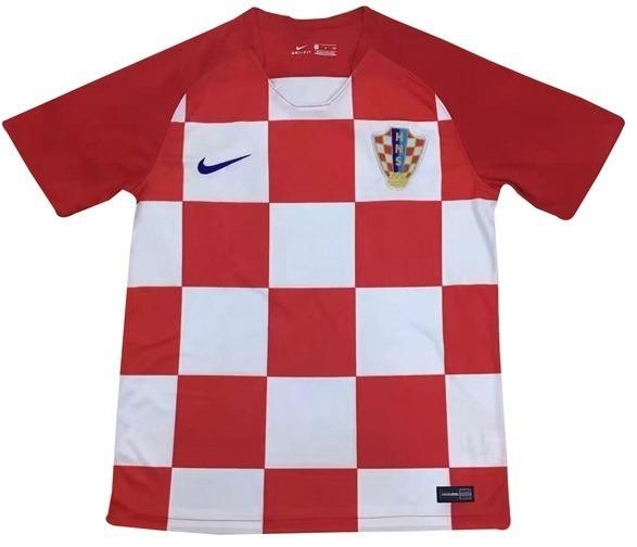 684617bc53ab2 Camiseta Selecao Croata Croacia Copa Do Mundo 2018 Lisa - R  180