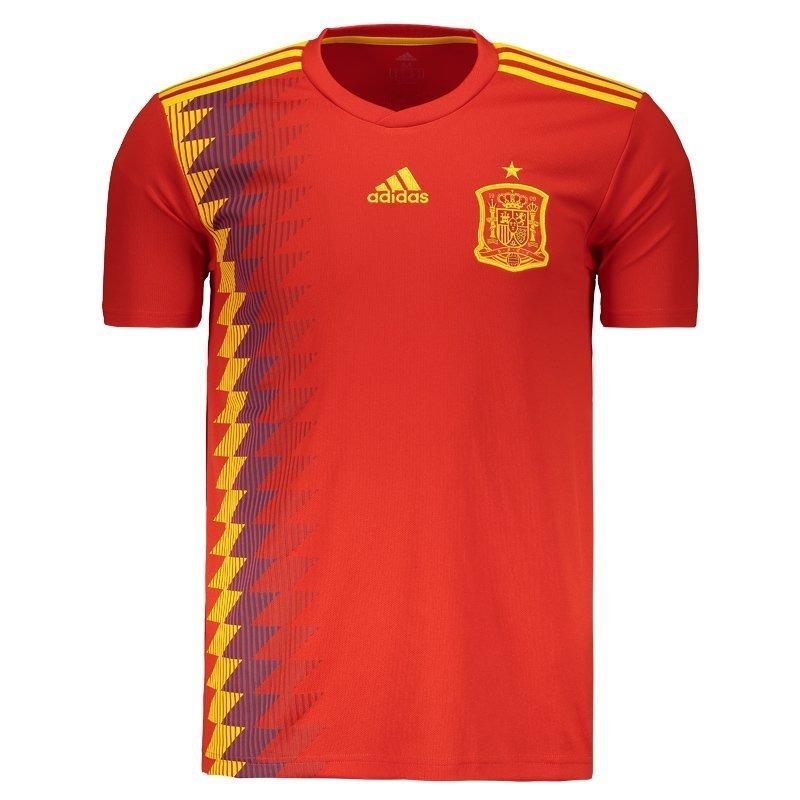 camiseta selecao espanhola espanha spain copa do mundo 2018. Carregando  zoom. e47c3159d0a87