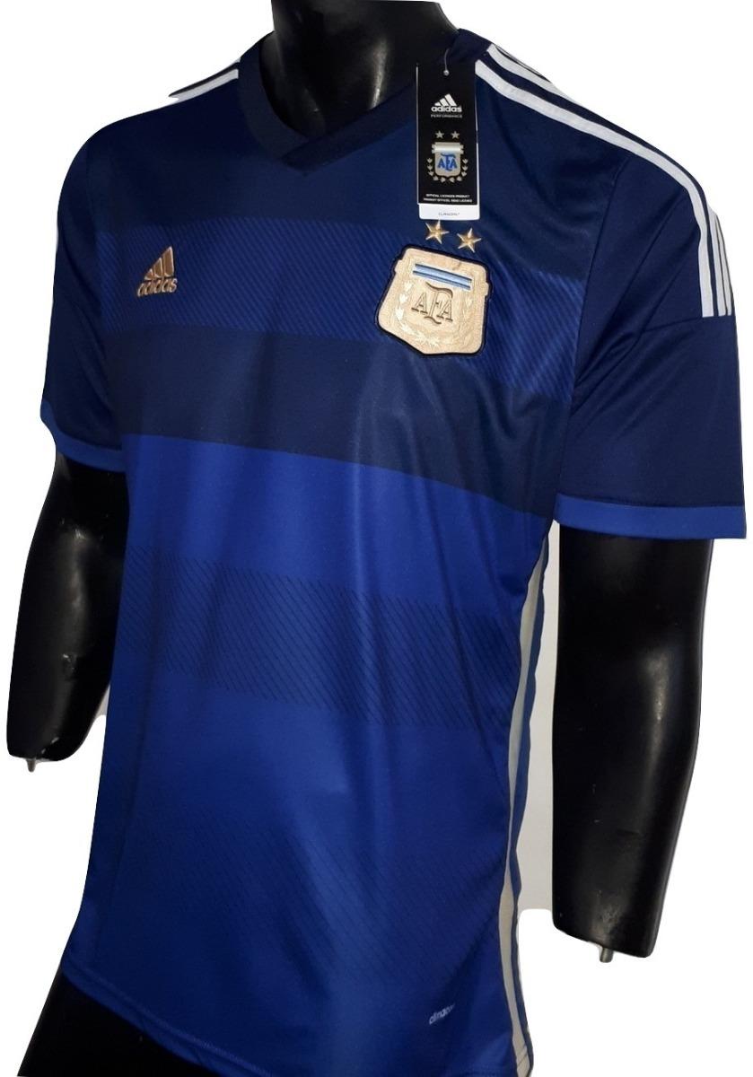 d8a32316b2 Camiseta adidas Selecc Argentina Suplente 2014 Envío Gratis! -   749 ...