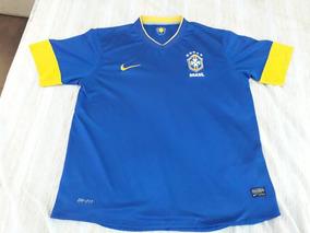 7a223ad00cf838 Camiseta Brasil Azul 2018 - Camisetas de 2002 en Mercado Libre Argentina