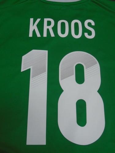 camiseta selección alemania euro 2012 kroos #18 real madrid