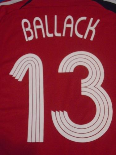 camiseta selección alemania italia mundial 2006 ballack #13