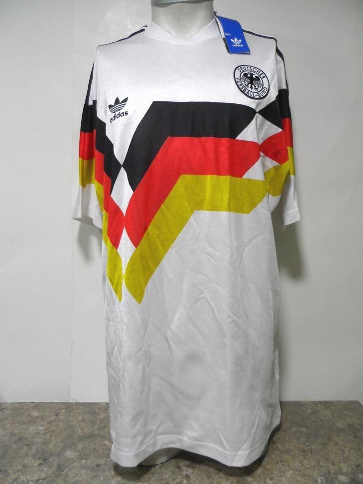más vendido zapatos clasicos gran venta Camiseta Selección Alemania Retro 1990 adidas N°10 Nueva - $ 24.990 en  Mercado Libre
