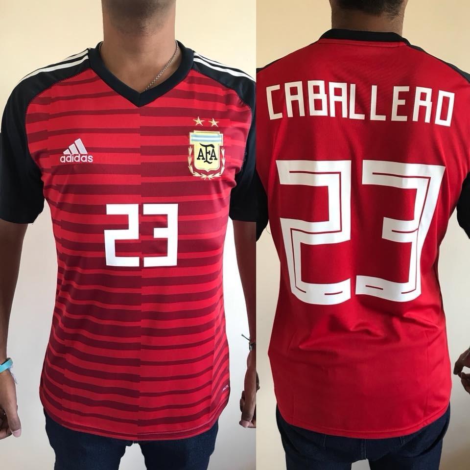 Camiseta Arquero Seleccion Argentina 2018 -  23 Caballero -   1.200 ... 428449313cf7e