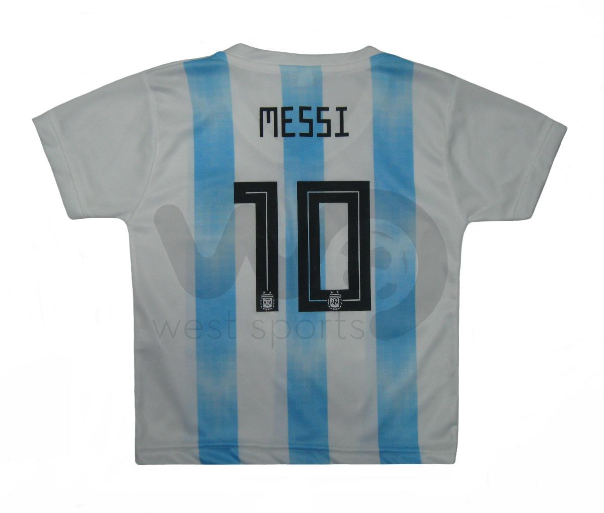 eca8b8e7a camiseta selección argentina bebé 2018 messi nº 10. Cargando zoom.