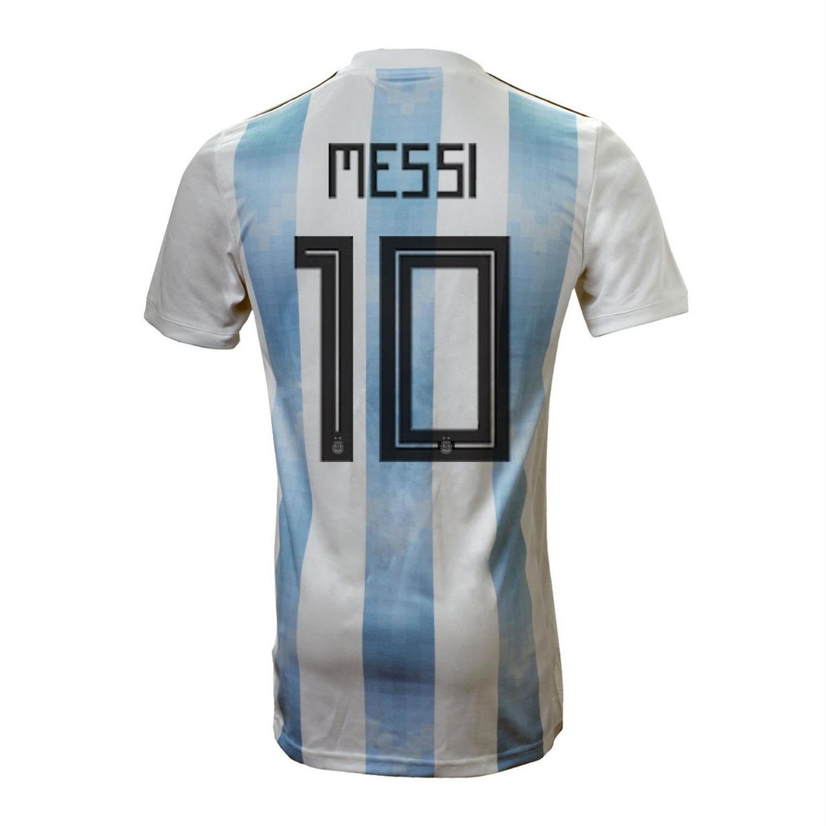 camiseta seleccion argentina mundial 2018 adidas messi 10. Cargando zoom. 2a0217460e66e