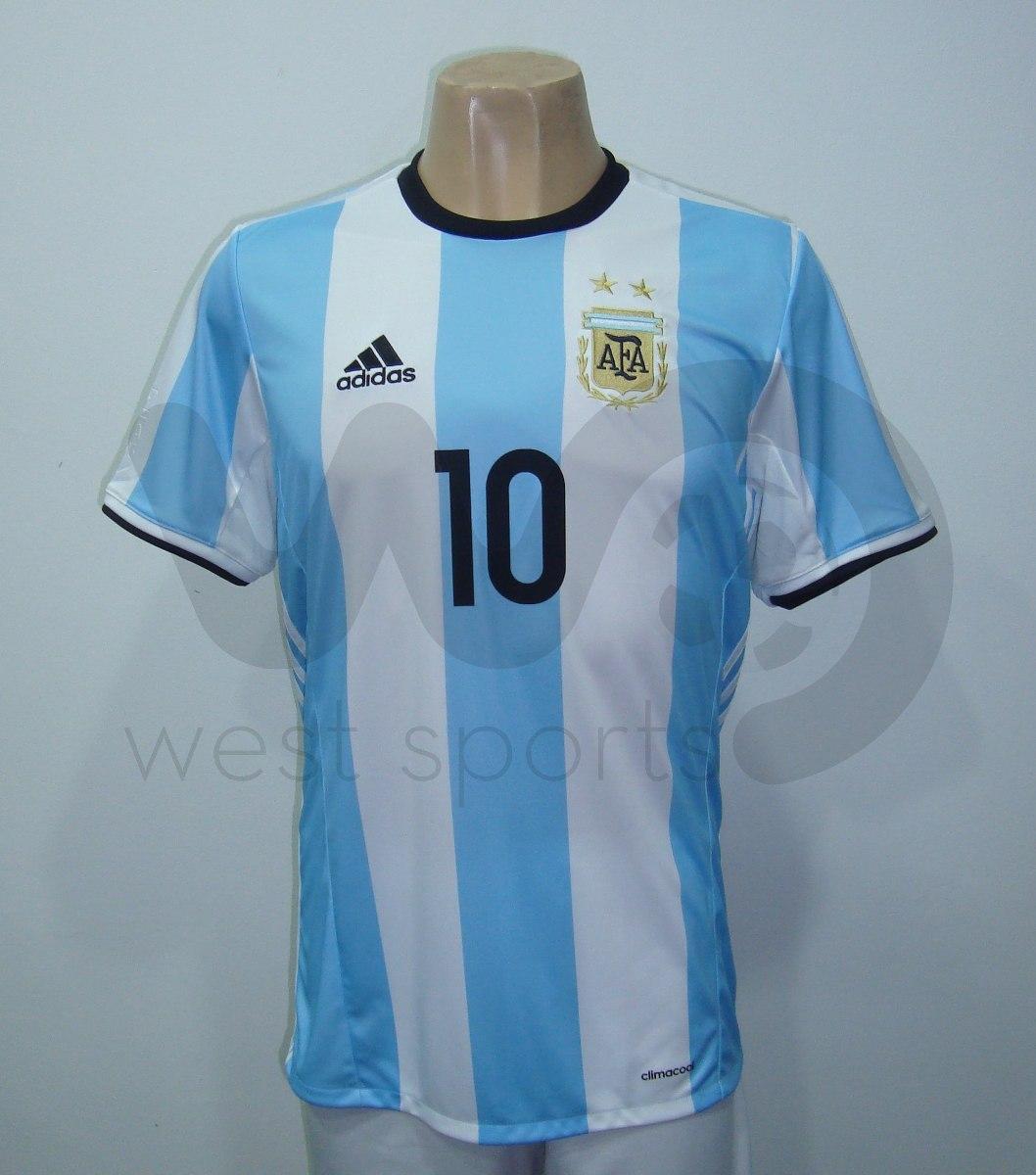 4a601b3ab4aff camiseta selección argentina titular 2016 2017 messi 10. Cargando zoom.