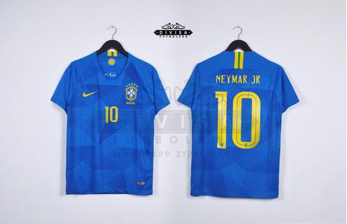 camiseta seleccion brasil brazil 2018 chaqueta sudadera nike