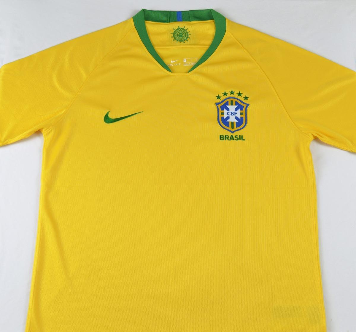 ce62b800c09e6 Camiseta Seleccion Brasil Local 2018 Neymar Jr Mundial -   159.900 ...