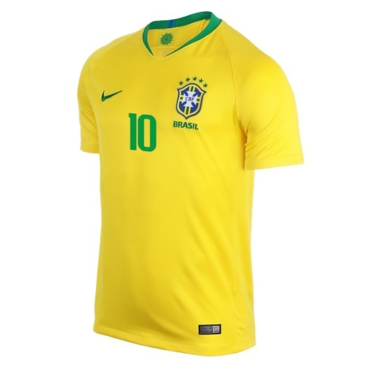 5819e85eee Camiseta Seleccion Brasil Local 2018 Neymar Jr Mundial -   159.900 ...