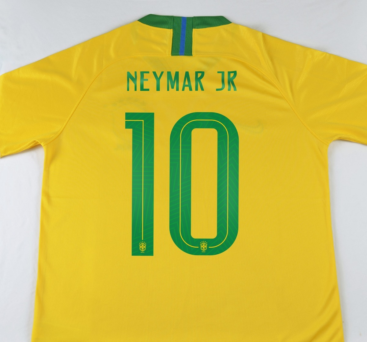 Camiseta Seleccion Brasil Local 2018 Neymar Jr Mundial -   159.900 ... abeda9bfb7d9a