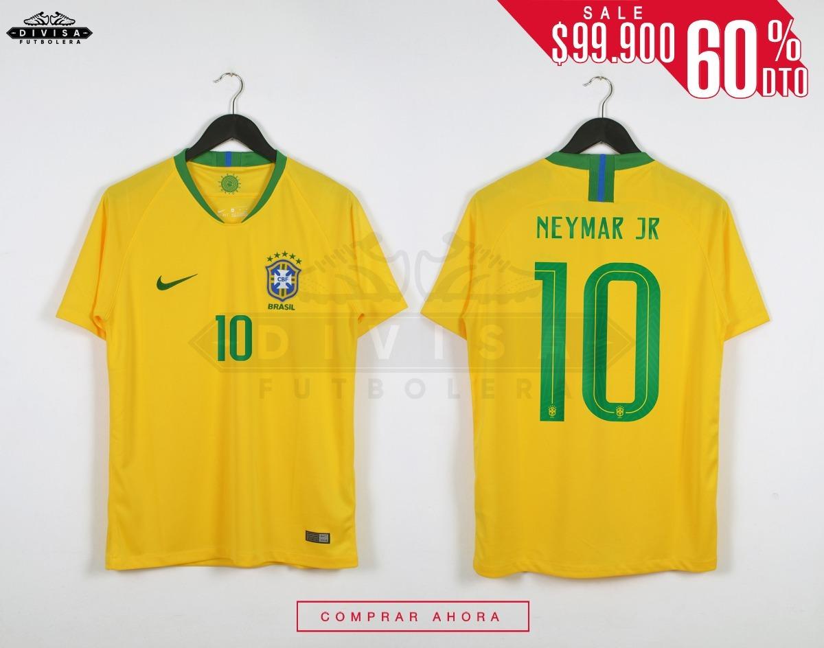 560f5dfb0d65f Camiseta Seleccion Brasil Local Neymar Jr 2018 Rebaja -   99.900 en ...