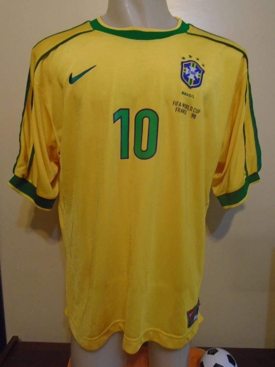 eb10e1e78 Camiseta selección brasil mundial francia rivaldo cargando zoom jpg  900x1200 Brasil seleccion camiseta 2017