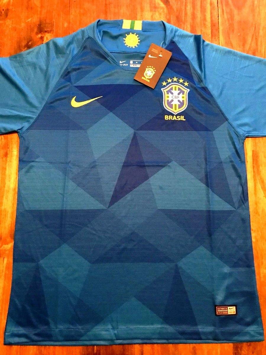 562ce5c1ae9563 camiseta seleccion brasil mundial rusia 2018 alternativa. Cargando zoom.