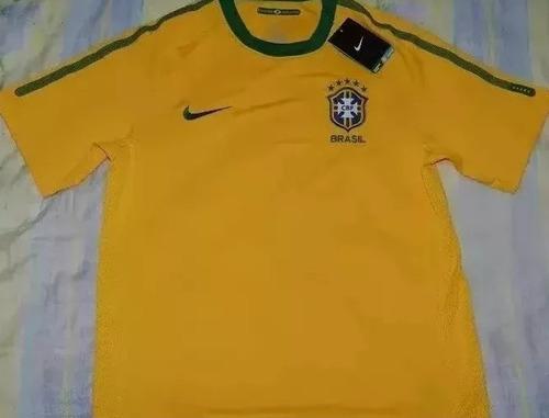 camiseta seleccion brasil - original nike nueva - negociable