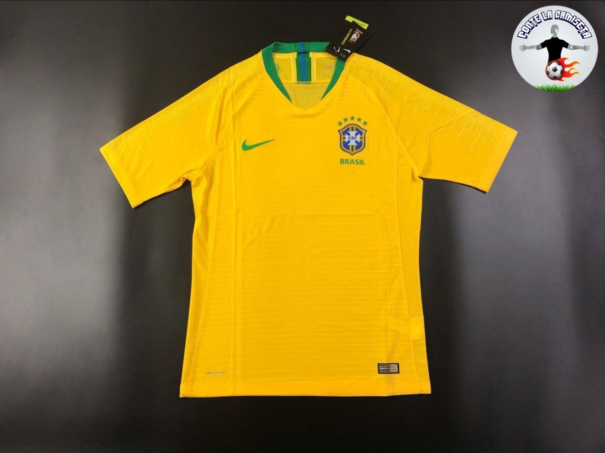 camiseta selección brasil (rusia 2018) - versión jugador. Cargando zoom. c6efdaeb7cfe2
