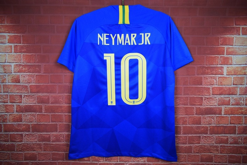 ec5862c0a545f camiseta seleccion brasil visitante 2018 neymar jr mundial. Cargando zoom.