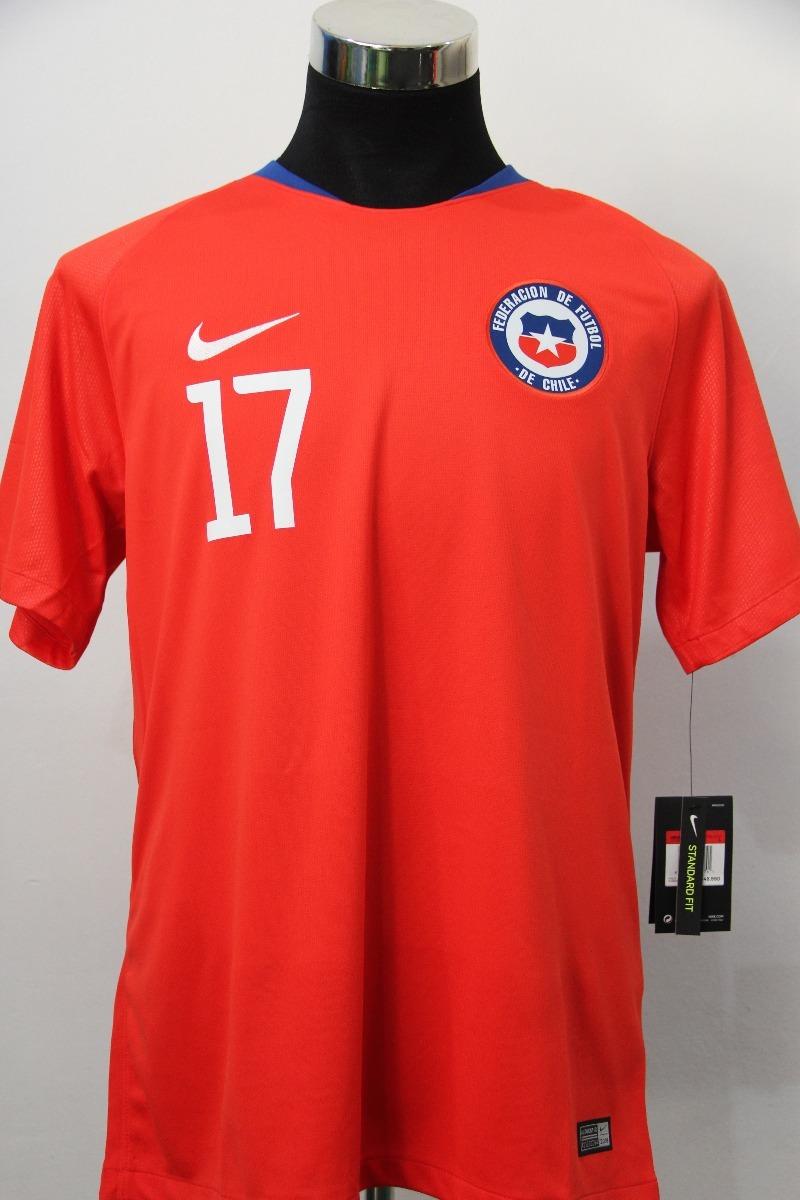 Camiseta Selección Chilena 2018 Nike Medel Original  S.boxer ... c587dd34af5da
