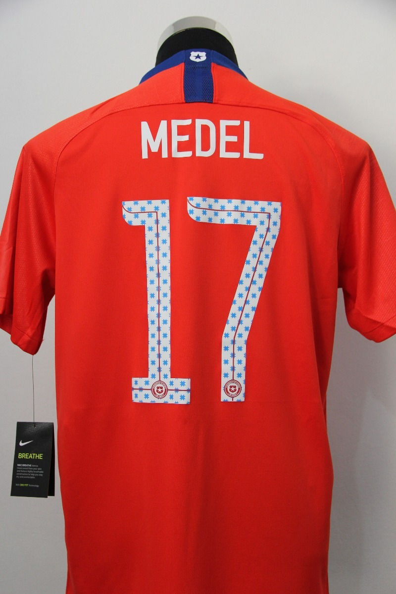 Camiseta Selección Chilena 2018 Nike Medel Original  S.boxer ... c2eb40f9e013d