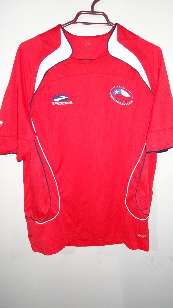 Camiseta Seleccion Chilena Brooks Talla M l $ 10.000