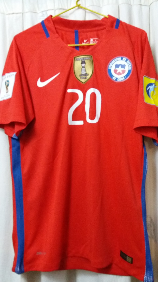 f79b0336acccd Camiseta Seleccion Chilena Version Jugador Rusia 2018 -   16.000 en ...